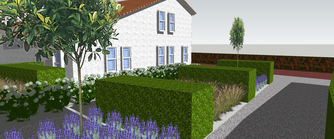Tuin for 3d tuin ontwerpen