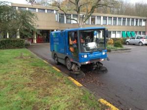 Reinigingstechniek Ravo veegwagen